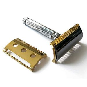 FaTip Special Edition Double Edge Safety Razor With 2 Different Plates, 42121