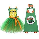 Supergirl Teenage Mutant Ninja Turtles Role Play Costume for Baby Kids Orange