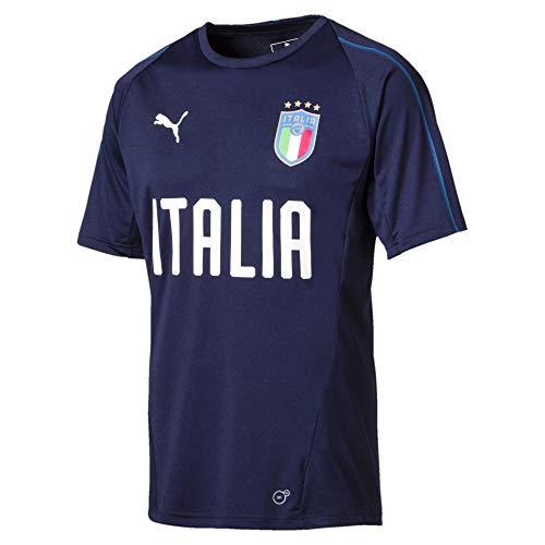 Puma Maglia da Allenamento FIGC Azzurro-Blu 18/20 Italia XS Azzurro-Blu