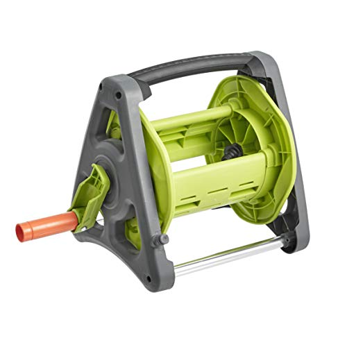AmazonBasics Garden Tool Collection - Hose Reel - up to 50ft, 1/2''