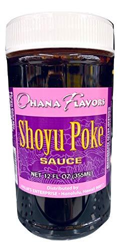 Ohana Flavors Hawaiian Poke Sauce (Shoyu, 12 Fluid Ounce)