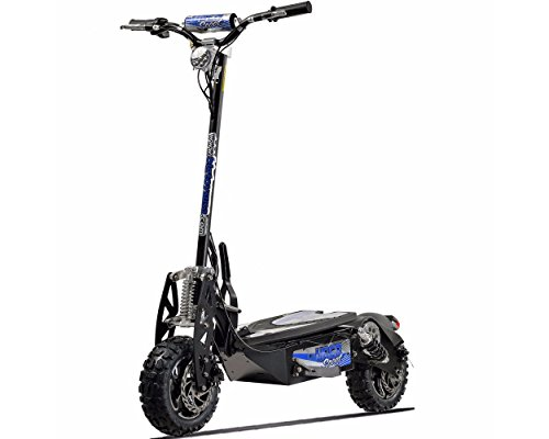 UberScoot 1600w 48v Electric Scooter, Black, Large