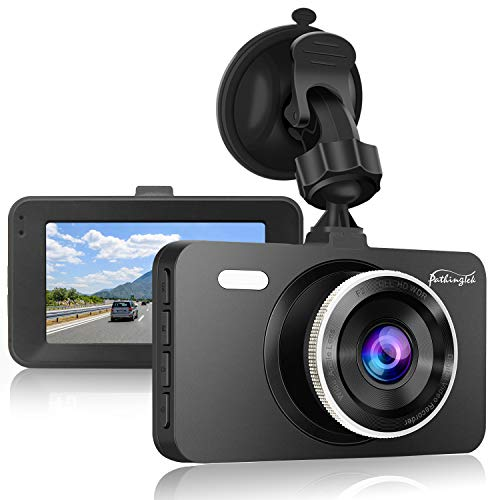 Dash Cam 1080P DVR Dashboard Camera Full HD 3' LCD Screen 170°Wide Angle, WDR, G-Sensor, Loop...
