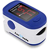 Zacurate 500BL Fingertip Pulse Oximeter Blood Oxygen Saturation Monitor with Batteries and Lanyard Included...