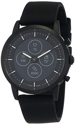 Fossil Collider Hybrid Hr Smartwatch Black Dial Men's Watch (FTW7010)
