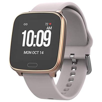 iConnect by Timex TW5M34400 Active Blush/Gold Smartwatch