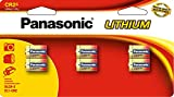 Panasonic CR2 3.0 Volt Long Lasting Lithium Batteries for Rangefinders, Cameras, Flashlights and Other Devices, 6-Battery Pack