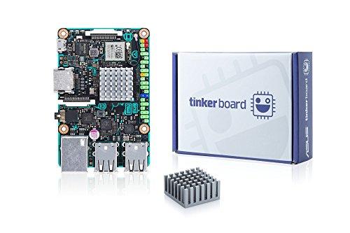 ASUS Placa Base Tinker Board/2GB, Negro