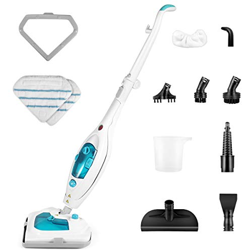 Steam Mop,1200W Powerful Chemical Free Hot Multifunctional Steam...