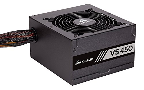 Corsair CP-9020170-UK 450W Certified Power Supply (Black)