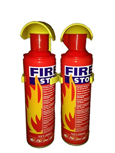 FMS Stop Portable Fire Extinguisher (500 ml, 2)