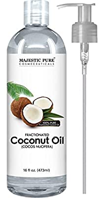 Premium Quality Fractionated Coconut Oil - It is a fraction of the coconut oil from which almost all the long chain triglycerides are removed, thus leaving mainly the medium chain triglycerides and making it a great MCT oil. It is odorless, clear to ...