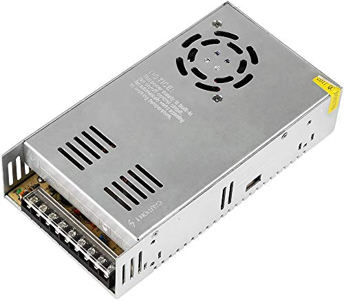 Vetrinerete Fuente de alimentación estabilizada 24 voltios 20 amperios 480 vatios interruptor transformador ventilado para iluminación led y videovigilancia 24v P39