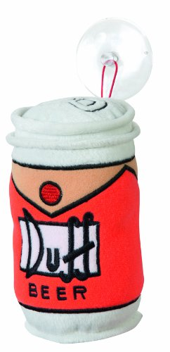 United Labels109483 Los Simpson - Cojín Mini con diseño de Lata de Duff