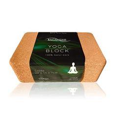 BAGANDHI FAIRER Preis FÜR EIN FAIRES Produkt! Der Yoga Block aus Kork zu 100% NATURMATERIAL UND OHNE Plastik
