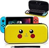 Haobuy Etui pour Switch, Pochette Protection Désigné pour Switch Pokémon...