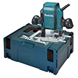 Makita RP0900XJ Défonceuse Ø 8 mm 900W + Coffret-RP0900XJ, Autre