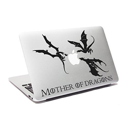 Juego de Tronos para madre de dragones Got adhesivo decorativo para macbook skin para ordenador portátil vinilo adhesivo de coche