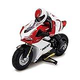 Kidz Tech - Moto Télécommandée Ducati Rider - Licence Officielle - Grande Moto Ducati Rider RC 2,4 GHz - Echelle 1/6