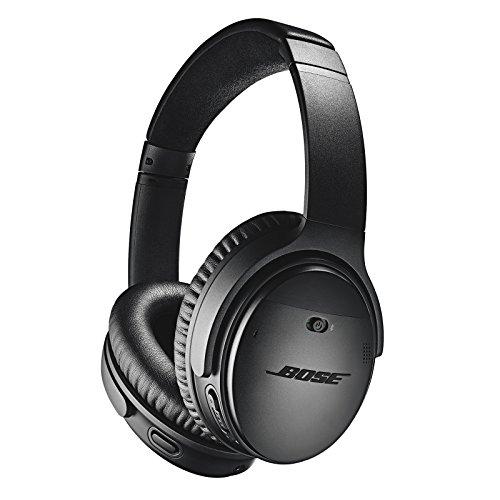 Bose QuietComfort 35 II Wireless Bluetooth Headphones, Noise-Cancelling, with Alexa Voice Control - Black (Electronics)