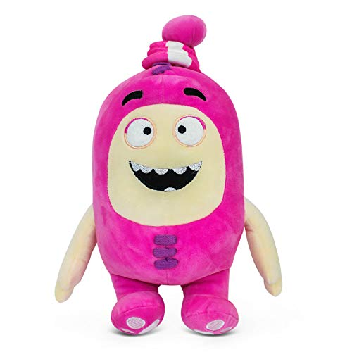 "Oddbods Newt Soft Stuffed Plush Toys — for Boys and Girls — Pink (12"" Tall)"