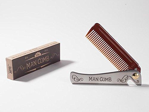 Man Comb. Lo strumento perfetto per capelli, barba e birra.
