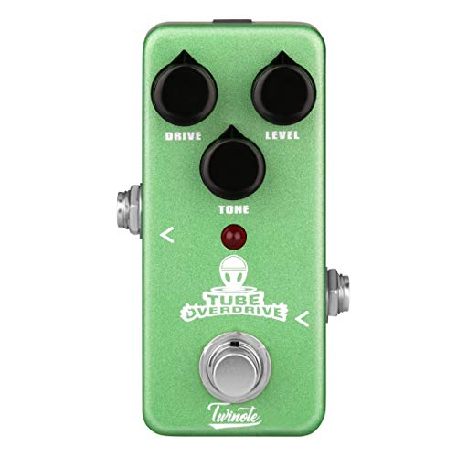 Twinote TOD-1 Overdrive Effects Pedal Mini Effect Processor for Electric Guitar