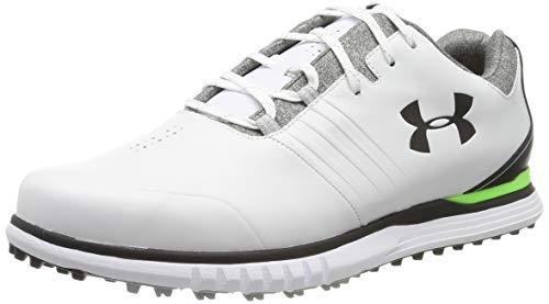 Under Armour Men's Showdown SL E Golf Shoes, White (White/Black/Black (100) 100), 8.5 (43 EU)