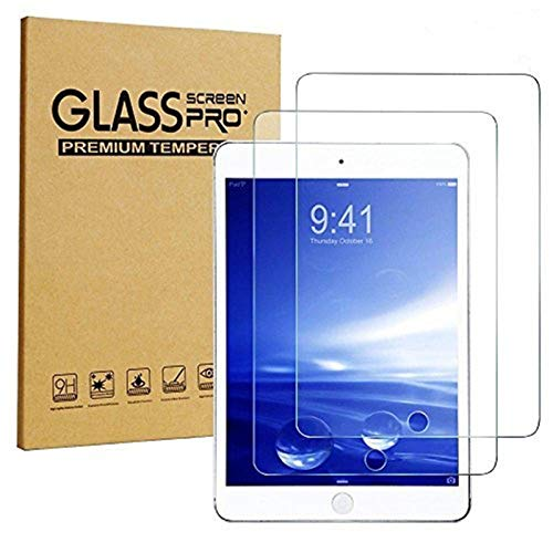 iPad Air/Air 2 / Pro/New iPad 9.7 Screen Protector, [2-Pack] Sincase Clear iPad Air 2 Tempered Glass Screen Protector 9H Glass Film Cover for iPad Air/Air 2 / Pro 9.7 Inch/New iPad 9.7 2017