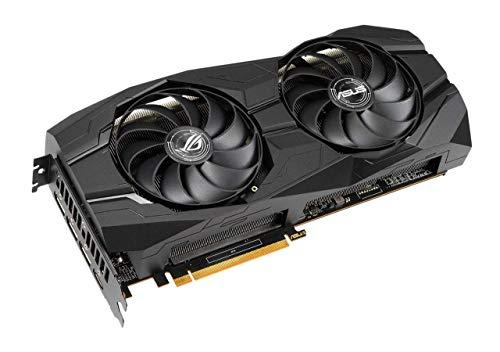 ASUS Asus ROG Strix AMD Radeon RX 5500 XT OC Edition, Scheda Video Gaming, 8 GB GDDR6, HDMI, DisplayPort, Otimo per Gaming FullHD, Ventole AxialTech, Backplate in Metallo, Tecnologia Auto-Extreme