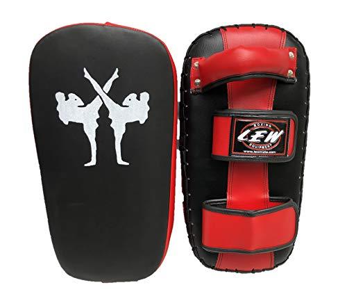 LEW Muay Thai MMA Kickboxing Training Single Piece Kick Focus Pads