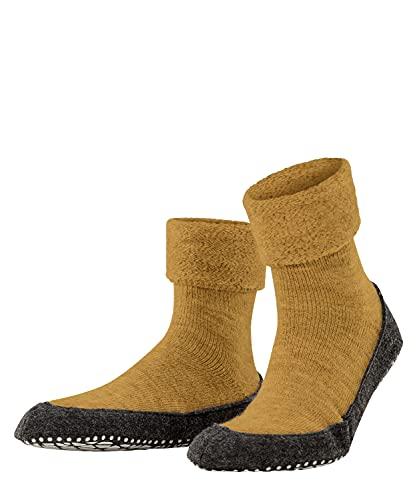 FALKE Cosyshoe M HP Pantofole a calzino, Giallo (Marigold 1224), 43-44 (UK 8.5-9.5 US 9.5-10.5) Uomo