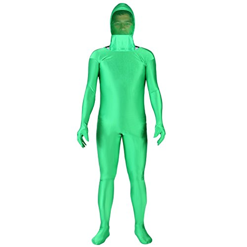 Neewer 撮影のクロマキーグリーンスーツ グリーンスクリーンクロマキーボディ 撮影のスーツインビジブルエフェクトに適応