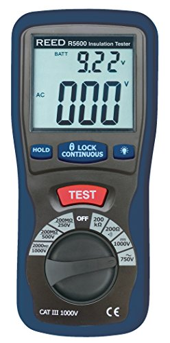 REED Instruments R5600 Insulation Tester