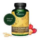 Coenzyme Q10 Ubiquinone Vegavero | Origine Naturelle | La Seule Enrichie de...