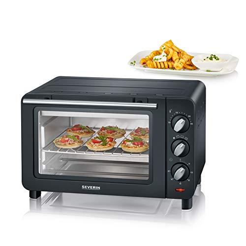 SEVERIN TO 2064 | Bak- en grill | 1200 W | Inclusief grill en bakplaat | 14 L