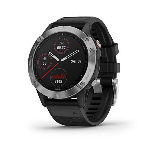Garmin fēnix 6 - Reloj GPS multideporte definitivo con sensores, VO2...