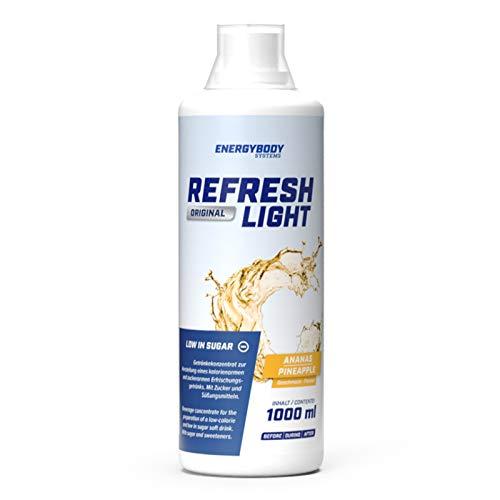 Energybody Refresh Light Ananas, 1er Pack (1 x 1 l)