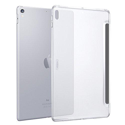 ESR iPad Pro 12.9 ケース(2017年版) クリア バックカバー 軽量 スマートキーボード対応 スリム ハード PC キズ防止 指紋防止 iPad Pro 12.9 2017年版専用ケース(クリア)