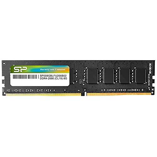 シリコンパワー デスクトップPC用メモリ DDR4-2666(PC4-21300) 8GB×1枚 288Pin 1.2V CL19 永久保証