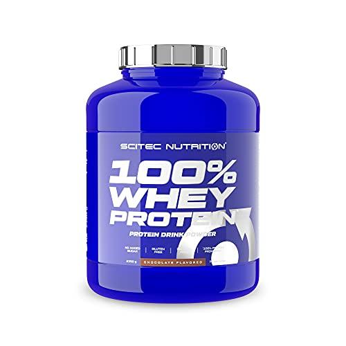 Scitec Nutrition 100% Whey Protein con aminoácidos adicionales, 2.35...