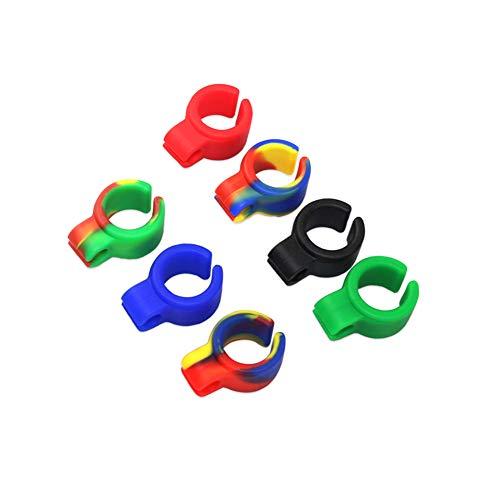 Anillo de cigarrillos titular Romote, anillo de fumadores Adaptable Mantenga las manos libres para los jugadores de consola jugadores de la guitarra y controlador (8 PACK)