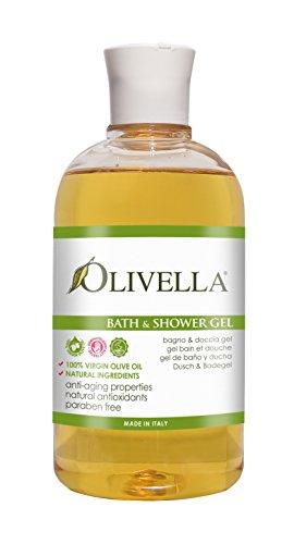 Olivella Virgin Olive Oil, Bath & Shower Gel -...