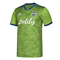 Show your team spirt by wearing this Seattle Sounders FC jersey on game day 100% Polyester Machine wash warm. Do not bleach. Do not tumble dry. Do not iron. Unisex Sizing fits both Men and Women; making it the perfect shirt for anyone Great for gift ...