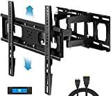 Everstone Full Motion TV Wall Mount with Height Adjustment for Most 32-65 inch LED, LCD, OLED...