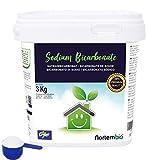 Nortembio Bicarbonato de Sodio 3 Kg, Insumo Ecológico de Origen Natural, Libre de Aluminio, EBook...
