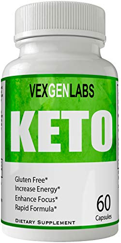 Vexgen Keto Pills Advance Weight Loss Supplement, Appetite Suppressant with Ultra Advanced Natural Ketogenic Capsules, 800 mg Fast Formula with BHB Salts Ketone Diet Boost Metabolism and Pulls Focus 1