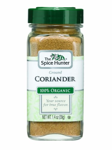 The Spice Hunter Coriander, Ground, Organic, 1.4-Ounce Jar