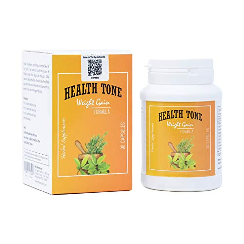 Health tone Gima Health Tone Weight Gain Capsules (1 Bottle, 90 Capsules)