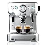 Cecotec Cafetera Express Power Espresso 20 Barista Pro. Thermoblock para Café y Espumar Leche, 20...